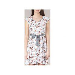 Sukienki krótkie Casual Attitude  ITEDOLA. Białe sukienki hiszpanki Casual Attitude, na co dzień, l, casualowe, z krótkim rękawem, mini. Za 111,30 zł.
