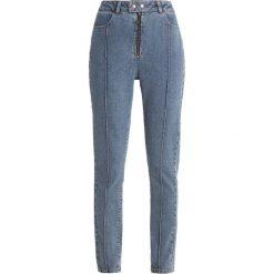 POSTYR POSORKIDÉ Jeans Skinny Fit blue denim. Niebieskie rurki damskie POSTYR, z bawełny. Za 509,00 zł.