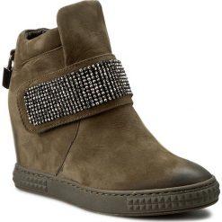 Sneakersy CARINII - B3844 I43-000-PSK-B88. Zielone sneakersy damskie Carinii, z materiału. W wyprzedaży za 279,00 zł.