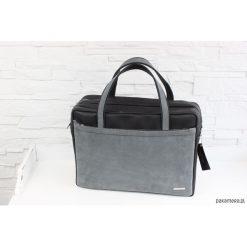 Shopper bag damskie: Skórzana My. Q Lady black classic myszka L-Z-D