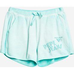 Pepe Jeans - Szorty dziecięze 122-176 cm. Czarne szorty damskie z printem marki bonprix. W wyprzedaży za 159,90 zł.