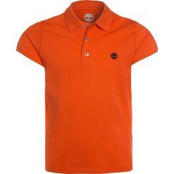 Timberland BASIC Koszulka polo orange. Czerwone bluzki dziewczęce bawełniane marki Timberland. Za 149,00 zł.