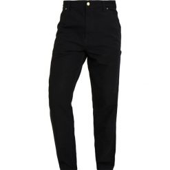 Spodnie męskie: Carhartt WIP SINGLE KNEE TURNER Spodnie materiałowe black rinsed