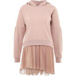Deha FELPA CON FONDO Bluza rose dust. Czerwone bluzy sportowe damskie Deha, xl, z bawełny. Za 459,00 zł.
