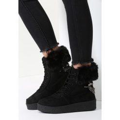 Czarne Śniegowce Stop The Rain. Czarne buty zimowe damskie vices. Za 99,99 zł.