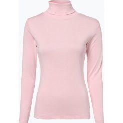 Brookshire - Damska koszulka z długim rękawem, różowy. Czarne t-shirty damskie marki brookshire, m, w paski, z dżerseju. Za 59,95 zł.