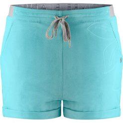 Bermudy damskie: Szorty w kolorze błękitnym
