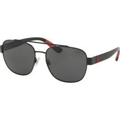 Okulary przeciwsłoneczne męskie lustrzane: Polo Ralph Lauren – Okulary