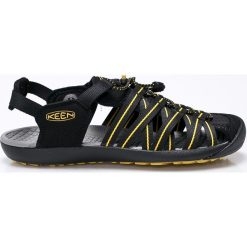 Keen - Sandały. Czarne sandały męskie Keen, z materiału, z okrągłym noskiem. W wyprzedaży za 219,90 zł.