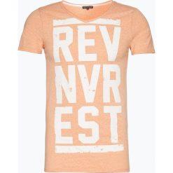 T-shirty męskie z nadrukiem: Review – T-shirt męski, pomarańczowy