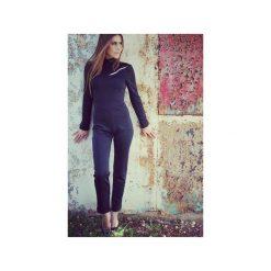 Kombinezony damskie: Uniwersalny kombinezon czarny Pure Elegance