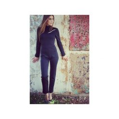Kombinezony eleganckie: Uniwersalny kombinezon czarny Pure Elegance