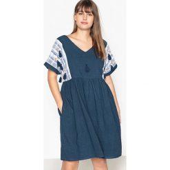 Sukienki hiszpanki: Gładka, krótka, rozszerzana sukienka