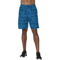 Asics GPX Woven 7'' Short 141086-8154. Niebieskie spodenki i szorty męskie marki Asics, z materiału. W wyprzedaży za 89,99 zł.