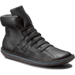Botki CAMPER - Beetle 46751-034 Black. Czarne buty zimowe damskie Camper, z materiału. W wyprzedaży za 399,00 zł.