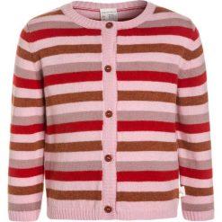 Hessnatur RINGEL  Kardigan sandelholz. Czerwone swetry dziewczęce hessnatur, z materiału. W wyprzedaży za 191,20 zł.