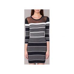 Sukienki krótkie Morgan  RZOE. Sukienki małe czarne marki Morgan, l, z krótkim rękawem. Za 209,30 zł.