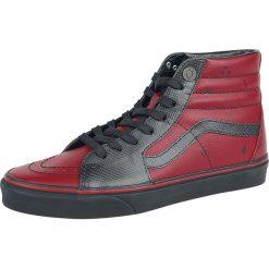 Vans Marvel Deadpool SK8-Hi Buty sportowe czerwony/czarmy. Szare buty sportowe męskie marki Vans, z materiału. Za 365,90 zł.