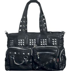 Torebki klasyczne damskie: Jawbreaker Mad To The Max Studded Bag Torebka – Handbag czarny