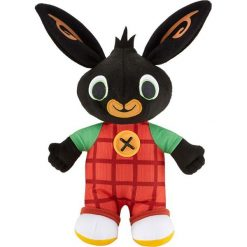 Przytulanki i maskotki: Mattel – Gadająca maskotka – Bing  (DVP93) wersja niemieckojęzyczna