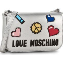 Torebka LOVE MOSCHINO - JC4069PP15LH0902 Argento. Szare listonoszki damskie Love Moschino. Za 739,00 zł.