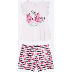 Spodnie dresowe dziewczęce: Name it – Komplet dziecięcy 92-128 cm