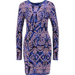 Sukienki hiszpanki: Ivyrevel PERSEA  Sukienka etui dark blue/yellow