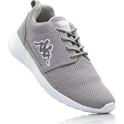 Buty sportowe Kappa bonprix jasnoszary. Szare buty sportowe męskie marki bonprix, na sznurówki. Za 89,99 zł.