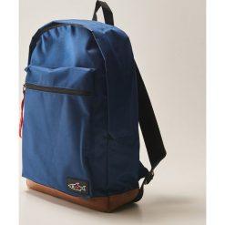 Plecak z ozdobną taśmą - Granatowy. Niebieskie plecaki męskie marki House. Za 79,99 zł.