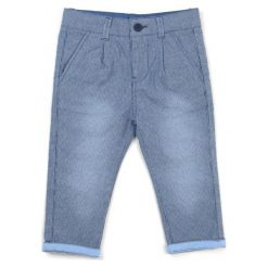 Chinosy chłopięce: Primigi Spodnie Chłopięce 74 Niebieski