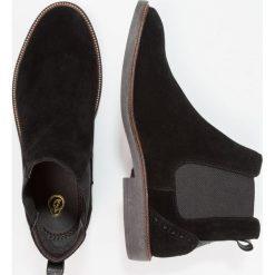 Botki męskie: Burton Menswear London MAXWELL CHELSEA Botki black