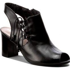 Rzymianki damskie: Sandały EKSBUT – 37-4583-155-1G Czarny