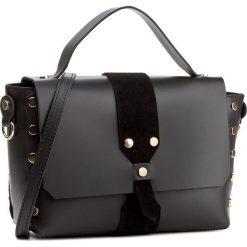 Torebka CREOLE - K10426 Czarny. Czarne torebki klasyczne damskie Creole, ze skóry. W wyprzedaży za 229,00 zł.