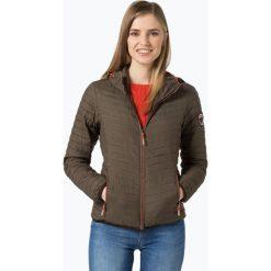 Superdry - Damska kurtka pikowana, zielony. Szare kurtki damskie pikowane marki Superdry, l, z tkaniny, z okrągłym kołnierzem, na ramiączkach. Za 579,95 zł.