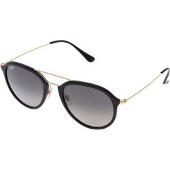 RayBan Okulary przeciwsłoneczne black. Czarne okulary przeciwsłoneczne damskie lenonki Ray-Ban. Za 619,00 zł.