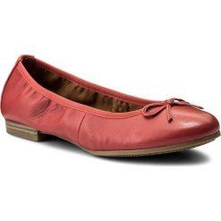 Baleriny TAMARIS - 1-22116-20 Chili Leather 565. Czerwone baleriny damskie lakierowane Tamaris, z materiału. W wyprzedaży za 179,00 zł.