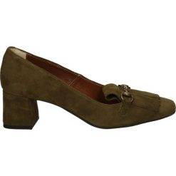 Czółenka - 2517 CAM VER9. Brązowe buty ślubne damskie Venezia, ze skóry. Za 199,00 zł.