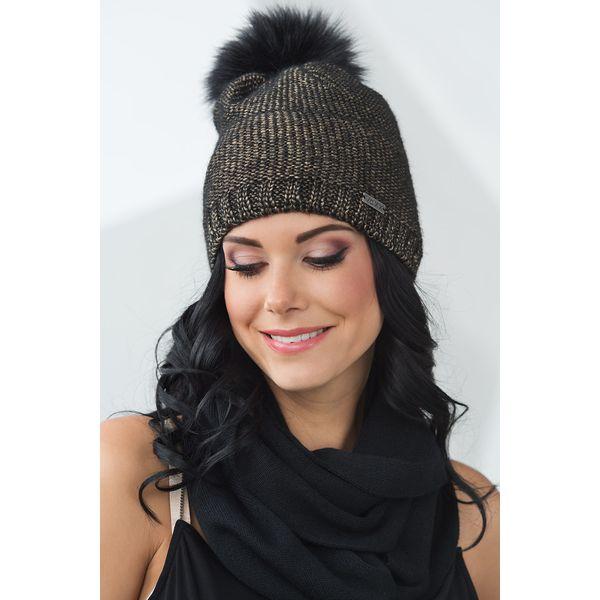 8608414a311c Szare czapki damskie - Promocja. Nawet -50%! - Kolekcja wiosna 2019 -  myBaze.com