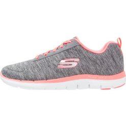 Trampki damskie slip on: Skechers Sport FLEX APPEAL 2.0 Tenisówki i Trampki gray/neon coral
