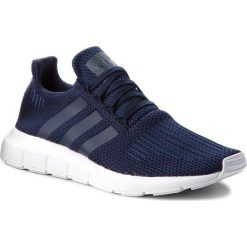 Buty adidas - Swift Run B37727 Conavy/Conavy/Ftwwht. Niebieskie buty sportowe damskie marki Salomon, z gore-texu, na sznurówki, do biegania, gore-tex. W wyprzedaży za 269,00 zł.