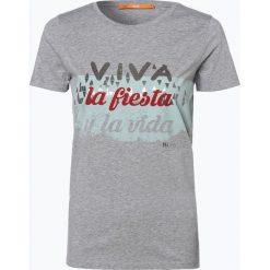 T-shirty damskie: BOSS Casual – T-shirt damski – Tashirti, szary