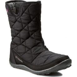 Kozaki dziewczęce: Śniegowce COLUMBIA – Youth Minx Slip Omni-Heat Waterproof BY1329 Black/Glamour 010