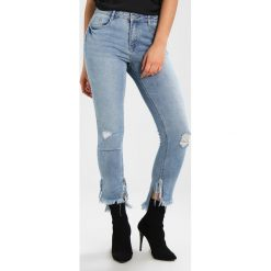 Rurki damskie: Missguided ANARCHY ANKLE GRAZER STEPPED SPLIT HEM VINTAGE WASH Jeans Skinny Fit blue