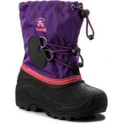 Kozaki dziewczęce: Śniegowce KAMIK – Southpole4 NK8727 Purple