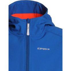 Icepeak TEIKO  Kurtka Softshell aqua. Niebieskie kurtki chłopięce przeciwdeszczowe Icepeak, z elastanu, sportowe. Za 169,00 zł.