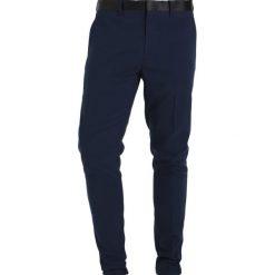 Spodnie męskie: Only & Sons ONSSUPER SKINNY BRODY Spodnie garniturowe dark navy
