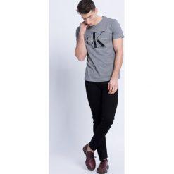 Calvin Klein Jeans - Jeansy. Czarne jeansy męskie skinny marki Calvin Klein Jeans, z aplikacjami, z bawełny. W wyprzedaży za 299,90 zł.