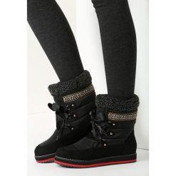 Czarne Śniegowce Shake It Baby. Czarne buty zimowe damskie marki vices. Za 64,99 zł.