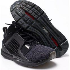 Puma - Buty Ignite Limitless Knit. Czarne buty skate męskie marki Puma, z gumy. W wyprzedaży za 429,90 zł.