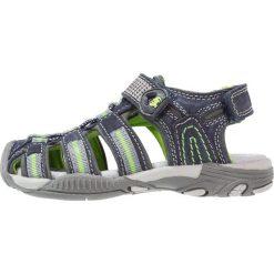 Lurchi BOBBY Sandały trekkingowe dark navy. Niebieskie sandały chłopięce Lurchi, z materiału, z otwartym noskiem. W wyprzedaży za 146,30 zł.